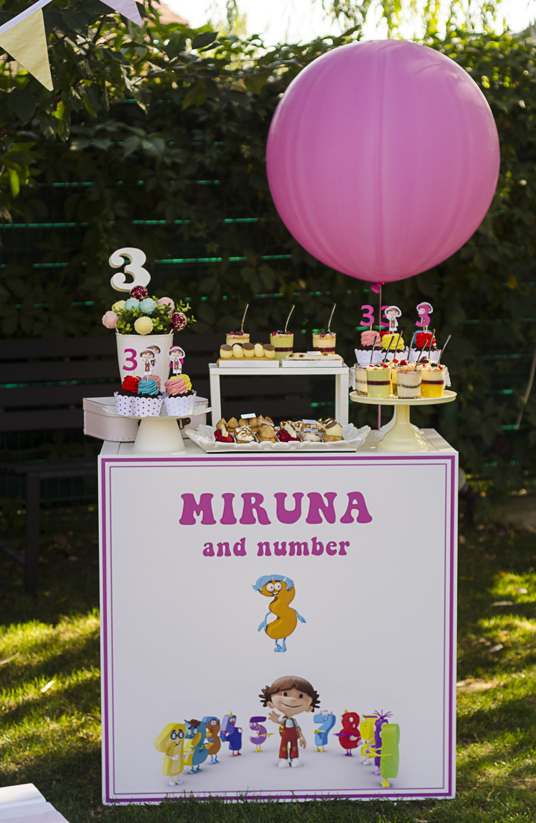 Miruna and the numbers