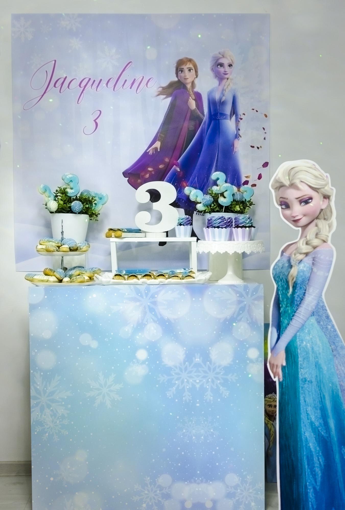 Jacqueline's Frozen Party