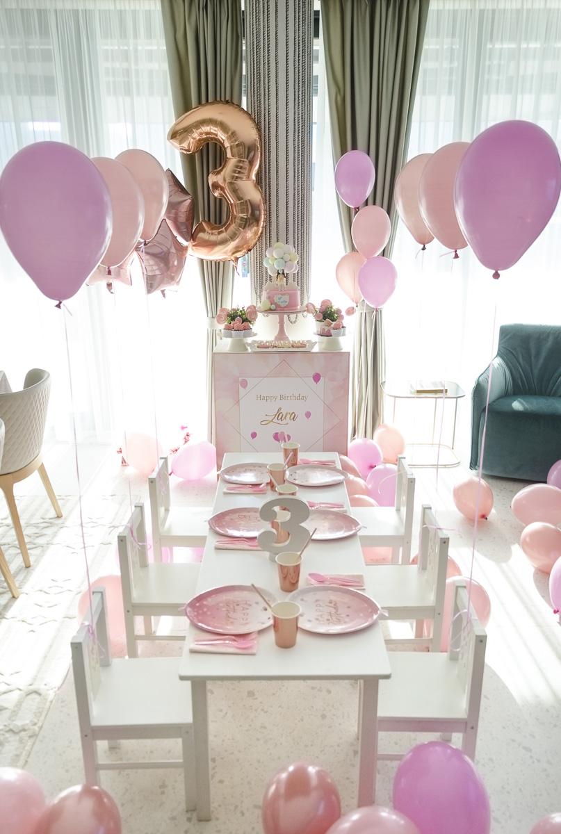 Lara's Pink Blush Party