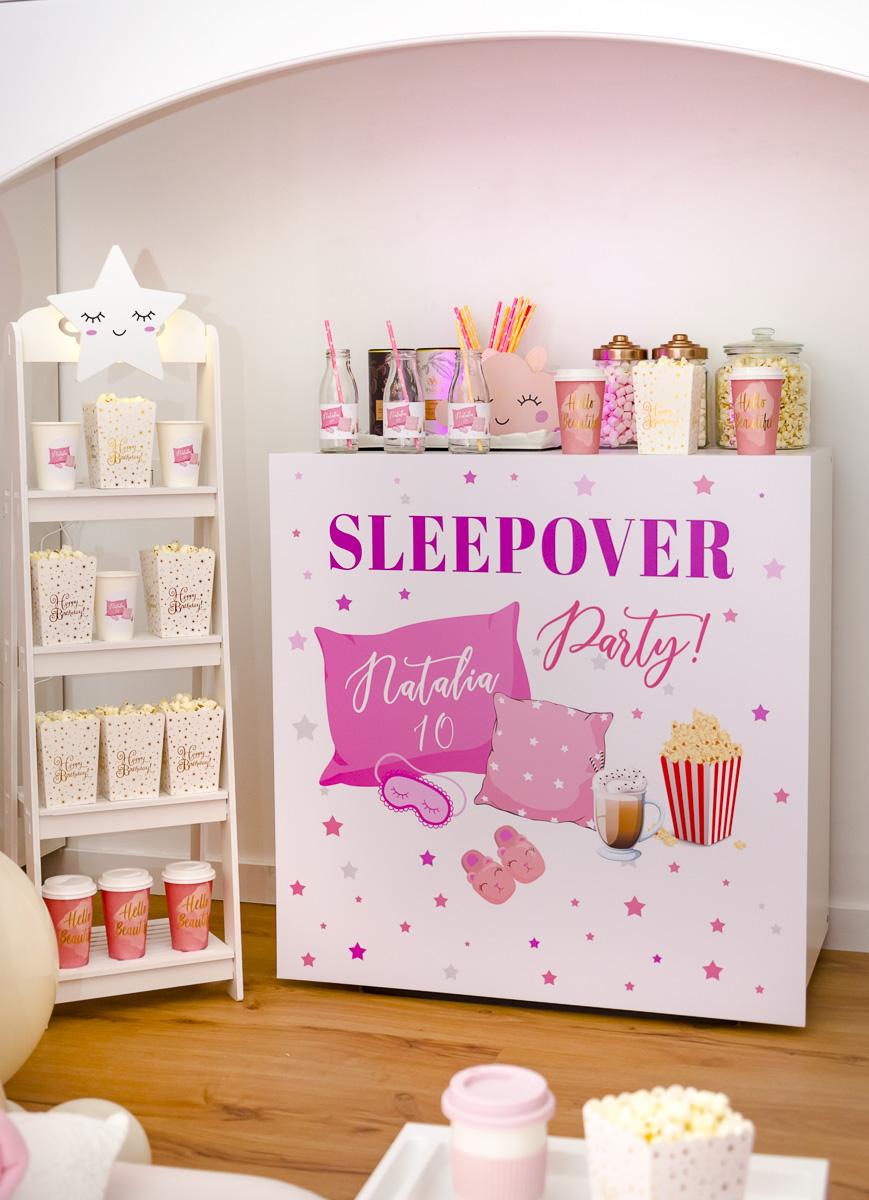 Blush Sleepover Party